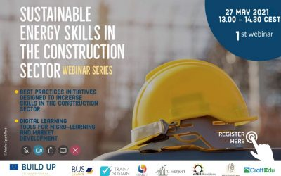 """Webinar """"Sustainable Energy Skills in the construction sector"""""""